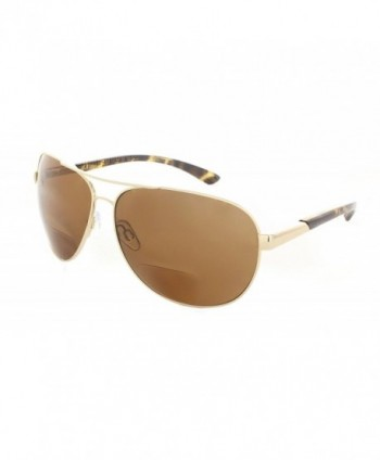 Polarized Aviator Bifocal Sunglasses Reader