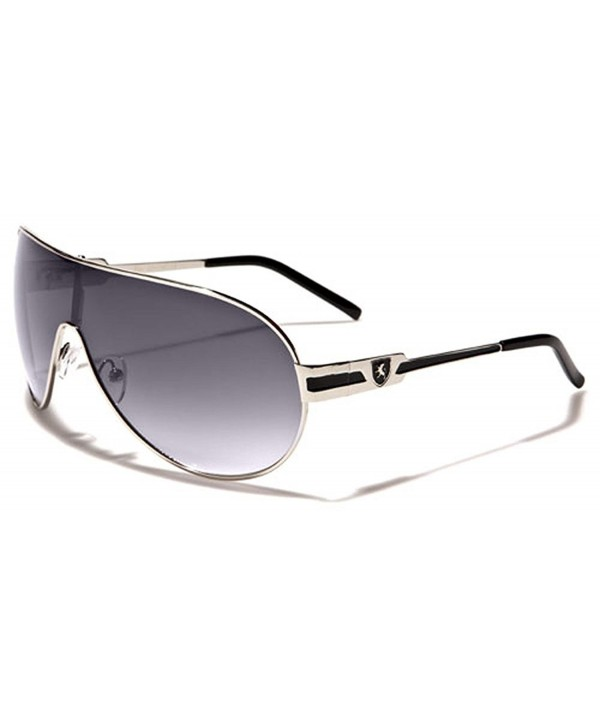 Round Aviator Shield Designer Sunglasses