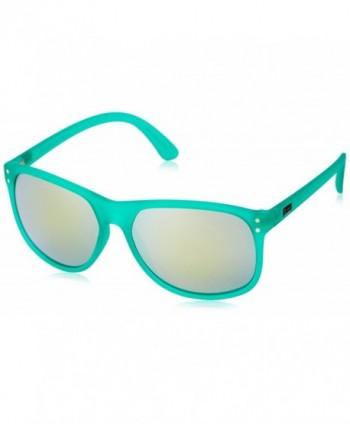 Dot Dash Hashtag Round Sunglasses