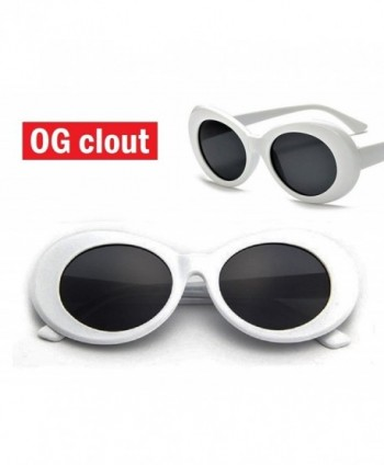 7208e5dc6b Clout Goggles and Clout Case HypeBeast Oval Sunglasses Mod Style ...