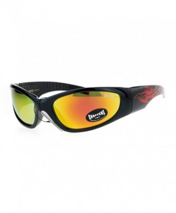 Choppers Mirrored Eagle Classic Sunglasses