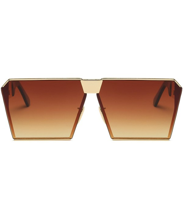 Square Oversized Fashion Sunglasses Gradient
