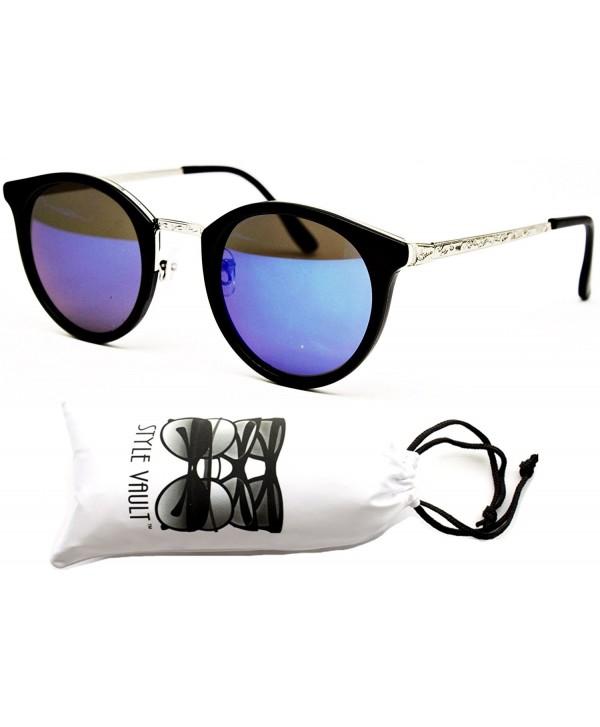 V155 vp Vintage Sunglasses Mt black silver blue