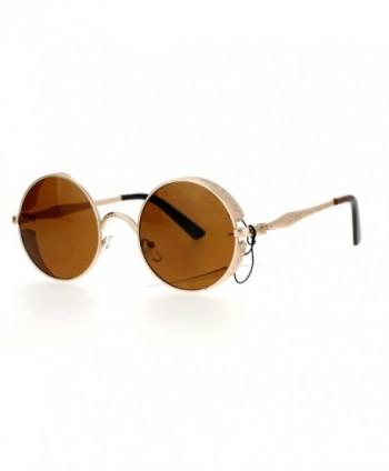 SA106 Medieval Engraving Circle Sunglasses