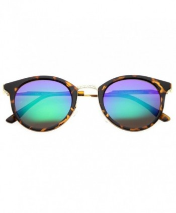zeroUV Mirror Sunglasses Tortoise Gold Midnight