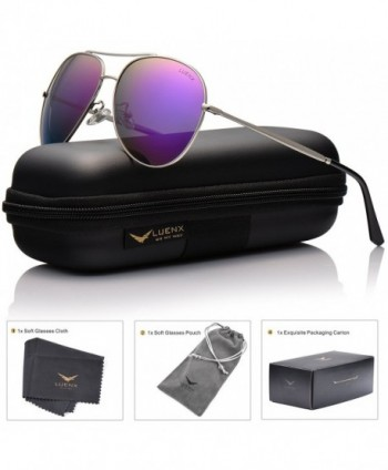 LUENX Aviator Sunglasses Polarized Women