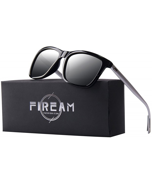 Polarized Wayfarer Protection Rectangle Sunglasses