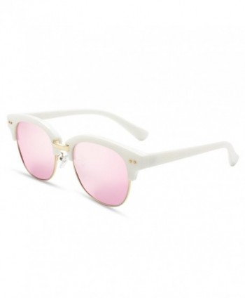 BLUEKIKI YEUX Rimless Polarized Sunglasses