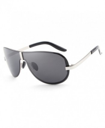 HDCRAFTER Oversized Polarized Sunglasses Anti Reflective