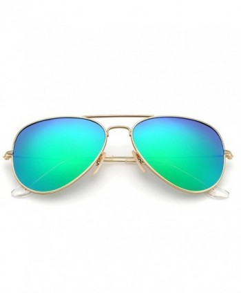 YuFalling Polarized Aviator Sunglasses Women
