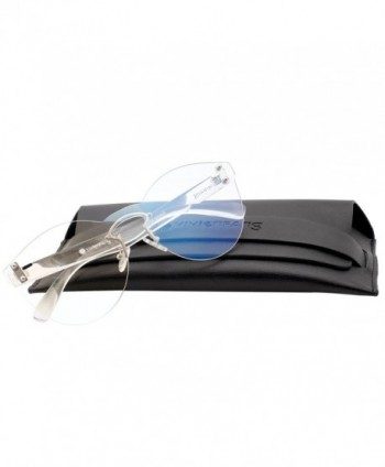 VIVIENFANG Lightweight Rimless Sunglasses P2212C