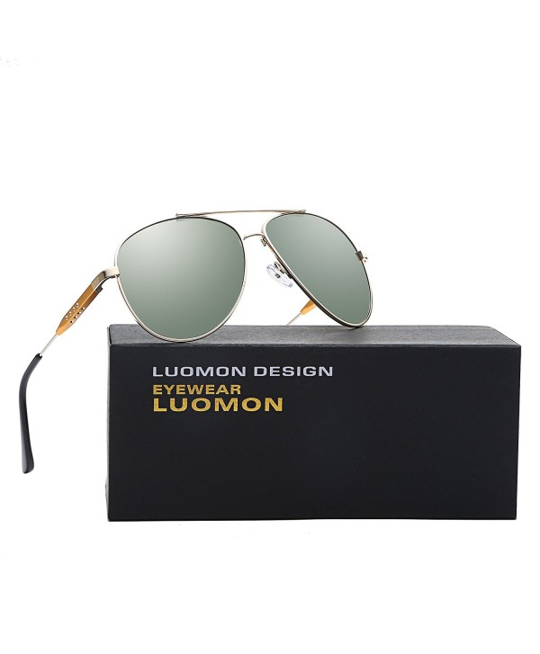 LUOMON Polarized Oversized Aviator Sunglasses