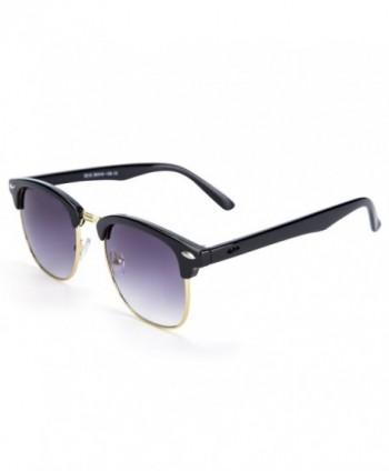 YJMILL Polarized Sunglasses Fishing black gold LightGrey