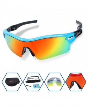 Polarized Sunglasses Interchangeable Cycling Running