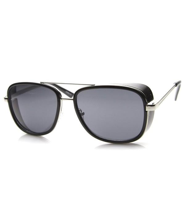 zeroUV Classic Bridged Sunglasses Black Silver