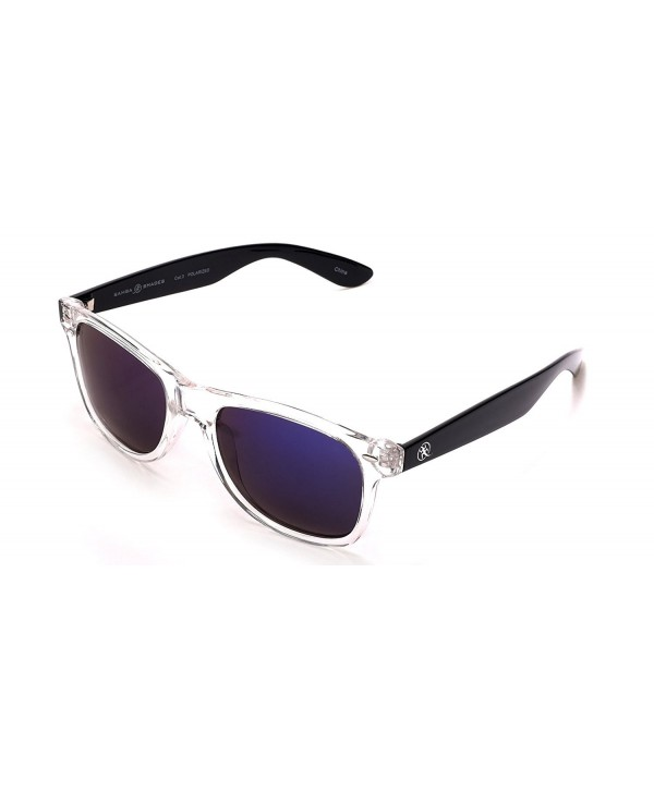 782ea8ec9 Polarized Wayfarer Sunglasses with Revo Mirrored Lens for Men and ...