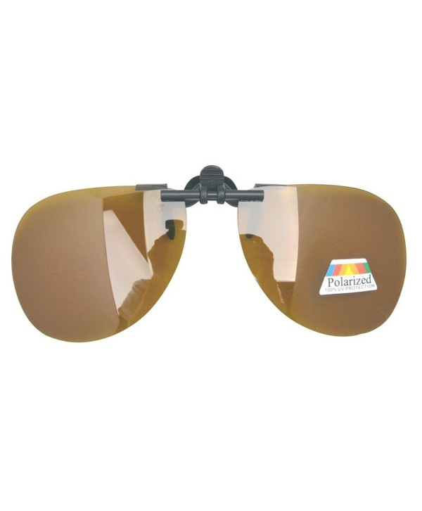 Eyekepper Pilot Polarized Sunglasses Amber