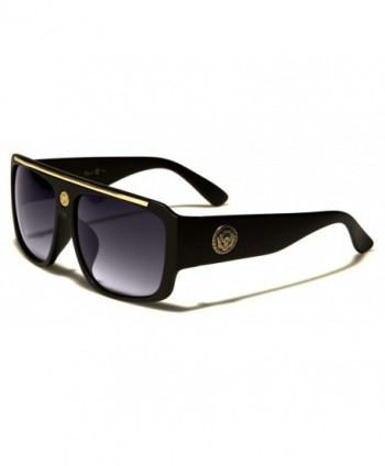 Kleo Rapper Retro Aviator Sunglasses