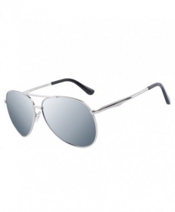 DUCO Aviator Polarized Sunglasses Protection