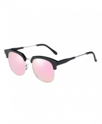 VeBrellen Rimless Polarized Sunglasses Wayfarer