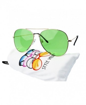 A67 vp Aviator Colored Sunglasses B3386F