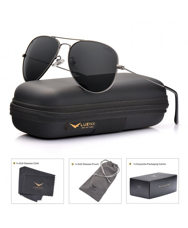e865978b95 Men Aviator Sunglasses Polarized Women shades   UV 400 60MM with ...