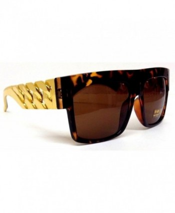 Brown Tortoise Cuban Wayfarer Sunglasses