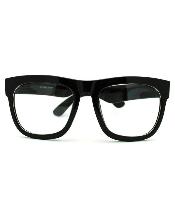 Oversized Square Glasses Fashion Eyewear