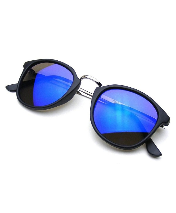 Mirror Steampunk Inspired Horned Sunglasses