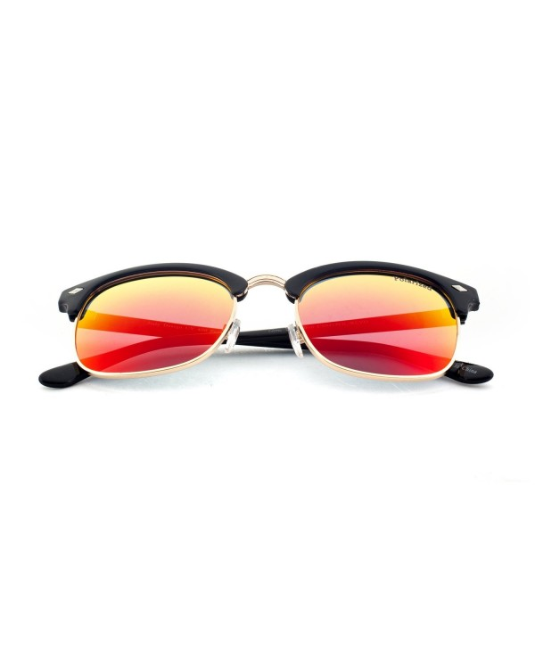 MLC EYEWEAR Square Polarized Sunglasses
