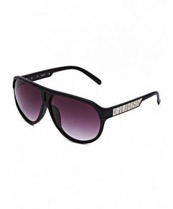 GUESS Factory Plastic Aviator Sunglasses