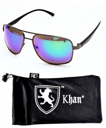 A77 kp Aviator Sunglasses Gunmetal Black Emerald