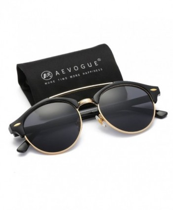AEVOGUE Polarized Sunglasses Semi Rimless Glasses