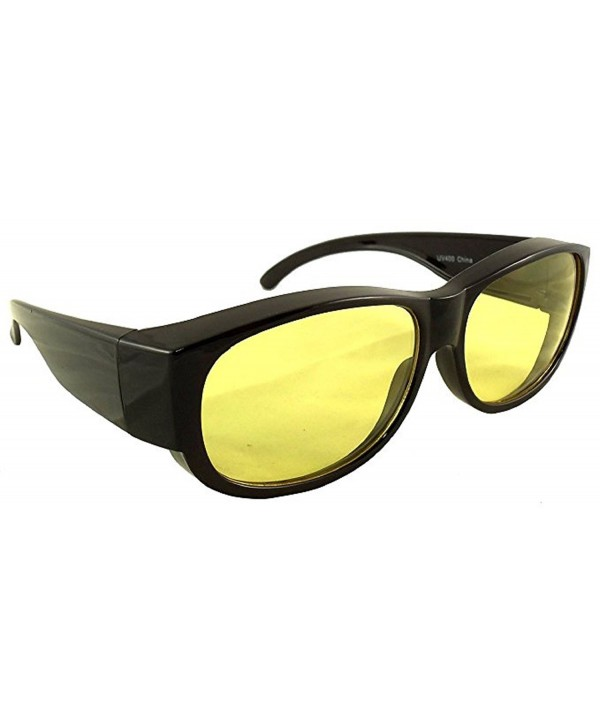 eb5c65c4a5ee2 Yellow Driving Glasses Prescription Better - Medium Non Polarized ...