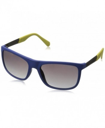 GUESS Acetate Rectangle Square Sunglasses