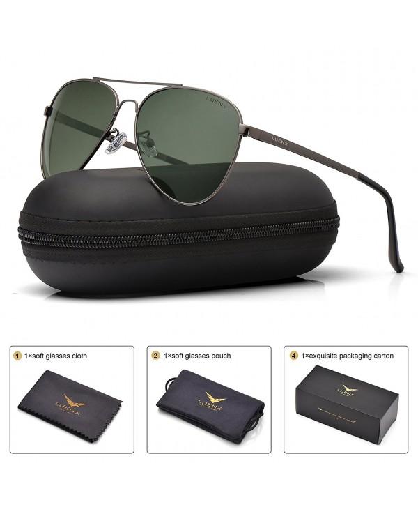 LUENX Sunglasses Non Mirror Accessories Protection