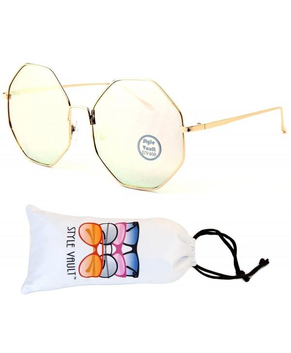 V158 vp Style Vault Sunglasses Gold Rose