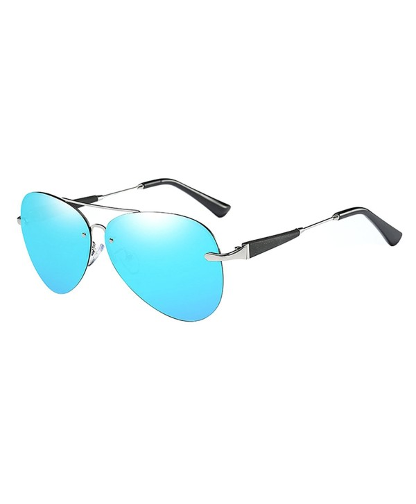 BVAGSS Fashion Polarized Mirrored Sunglasses
