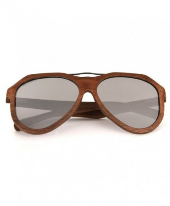 Blasses Wooden Wayfarer Sunglasses Polarized