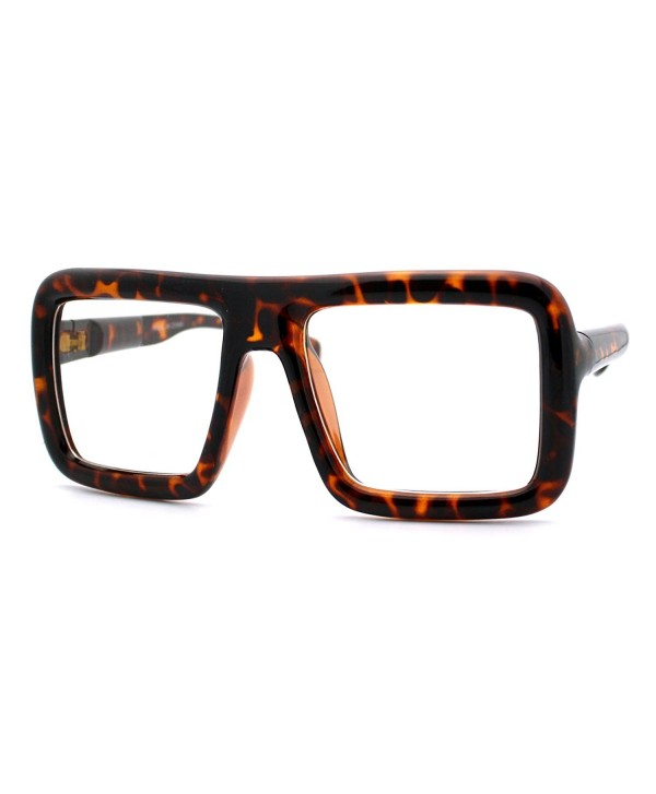Glasses Eyeglasses Oversized Fashion Tortoise