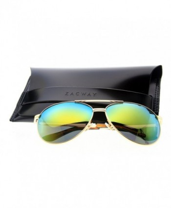 Zacway Premium Polarized Aviator Sunglasses