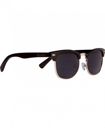 WOODIES Clubmaster Sunglasses Polarized Lenses