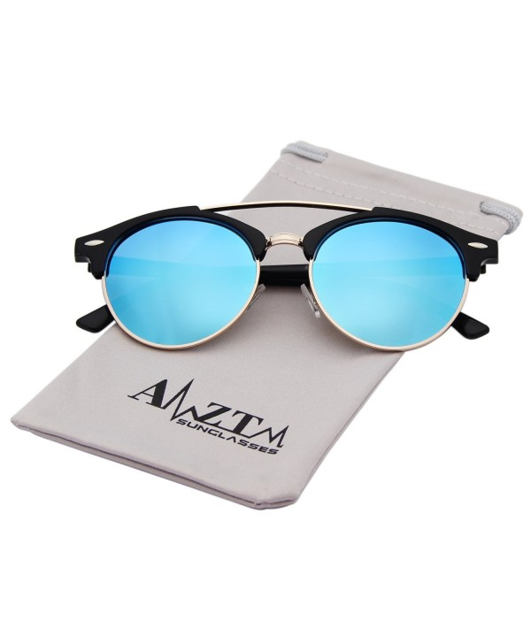AMZTM Semi Rimless Polarized Reflective Sunglasses