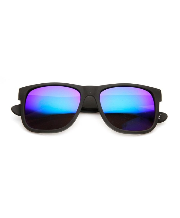 5eb9b57d3 Action Sports Square Color Mirror Flash Lens Active Horn Rimmed ...