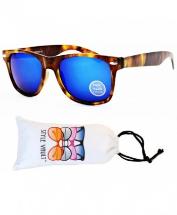 Style Vault Wayfarer Sunglasses Brown blue
