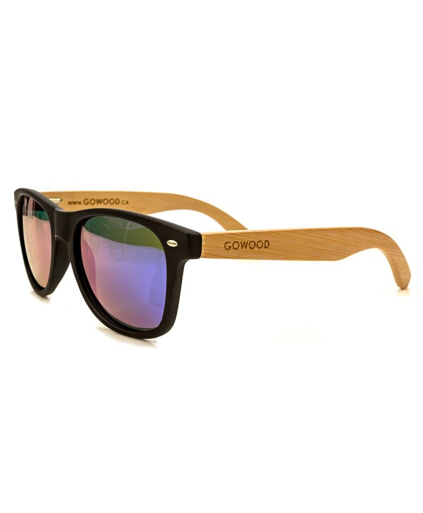 72b31208a3 Wood Wayfarer Sunglasses Bamboo For Men   Women with Polarized ...