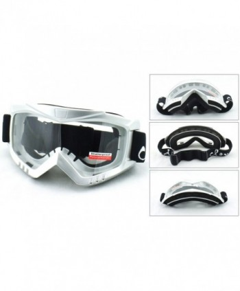 Cloud Unisex Safety Goggles Glossy