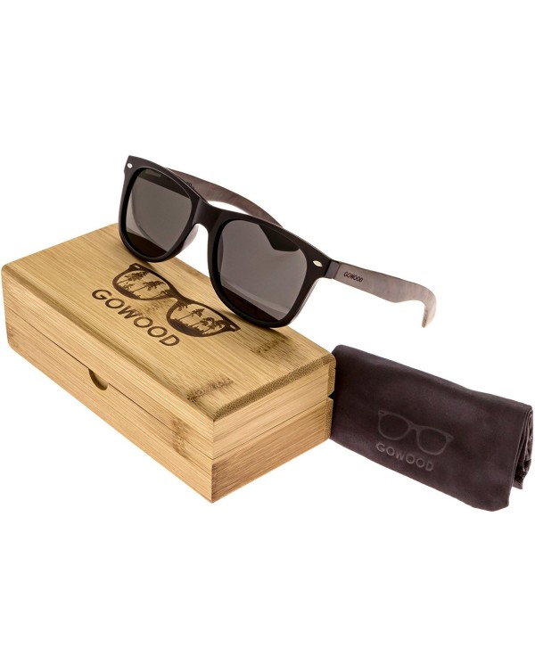 Ebony Wayfarer Sunglasses Polarized Lenses