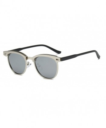 Bevi Rimless Polarized Sunglasses 0911C4SLSL
