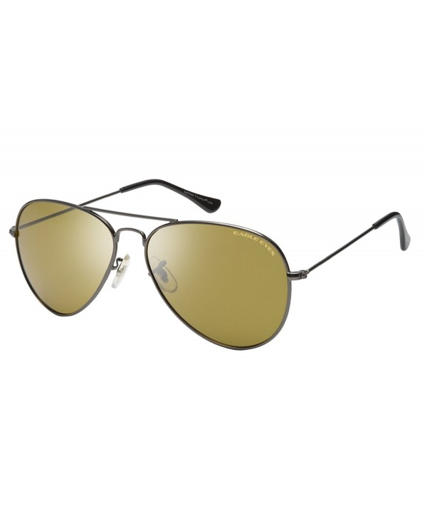 Eagle Eyes Oversized Aviator Sunglasses